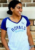 Kansas City Royals Womens Raglan T-Shirt - White