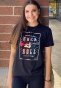 Rock & Roll Hall of Fame Guitar Poster Black Short Sleeve T-Shirt