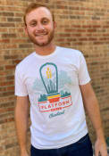 Platform Beer Co. White Deconstructed Prime Logo Short Sleeve T-Shirt