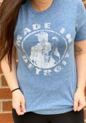 Made In Detroit Detroit Blue Made In Short Sleeve T Shirt