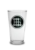 Detroit Black Shifter Pint Glass