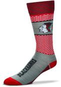 Chicago Blackhawks Mojo Dress Socks - Grey