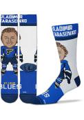 St Louis Blues Signing Bonus Tarasenko Dress Socks - Blue