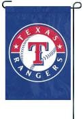 Texas Rangers 12x18.5 Applique Garden Flag