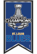 St Louis Blues 2019 Stanley Cup Champs Banner Pin