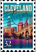 Cleveland Acrylic Keychain Keychain