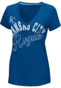 Kansas City Royals Womens Blue Homefield T-Shirt