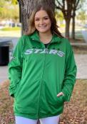 Dallas Stars Dual Threat Track Jacket - Green
