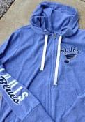 St Louis Blues Womens Training Camp Full Zip Jacket - Blue