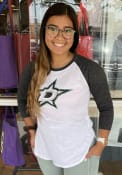 Dallas Stars Womens Tailgate T-Shirt - White