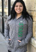 Dallas Stars Womens Defender Full Zip Jacket - Grey