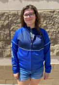St Louis Blues Womens Stadium Track Jacket - Blue