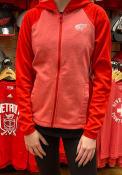 Detroit Red Wings Womens Red Fan Favorite Full Zip Jacket