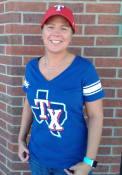 Texas Rangers Womens First Pick T-Shirt - Blue