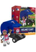 Texas Rangers Helmet Car Collectible Oyo Set