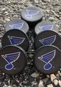 St Louis Blues team logo Hockey Puck