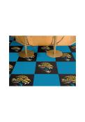Jacksonville Jaguars 18x18 Team Tiles Interior Rug