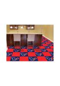 Houston Texans 18x18 Team Tiles Interior Rug