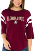 Florida State Seminoles Womens Abigail T-Shirt - Red