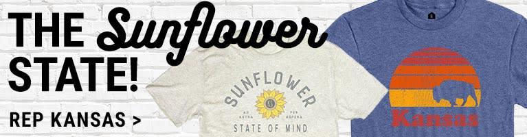 Kansas Sunflower State Apparel & Gifts