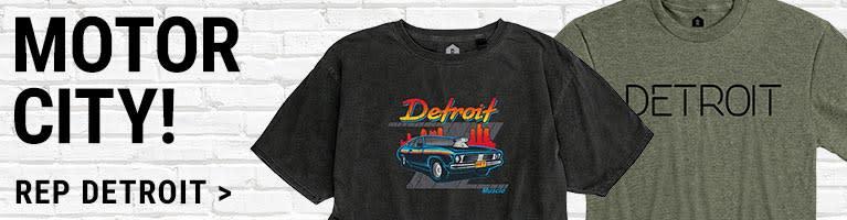 Detroit Michigan Apparel & Gifts