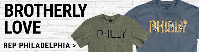 Philadelphia Pennsylvania Apparel and Gifts