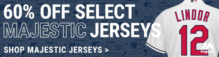 Cleveland Indians Majestic Jerseys Clearance