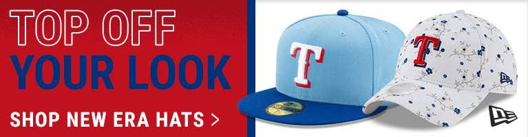 MLB Texas Rangers New Era Hats