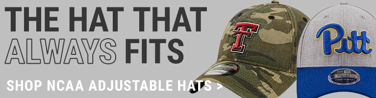 NCAA Adjustable Hats